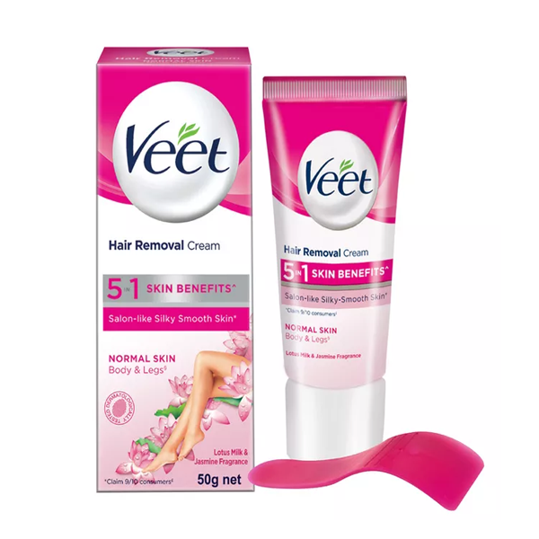 Veet Hair Removal Cream for Normal Skin  (50 gm)