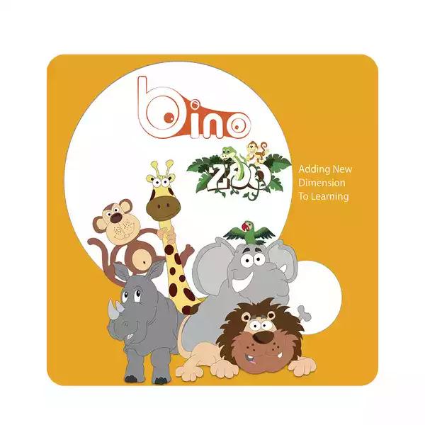 Bino 3D Adventurous Zoo Book