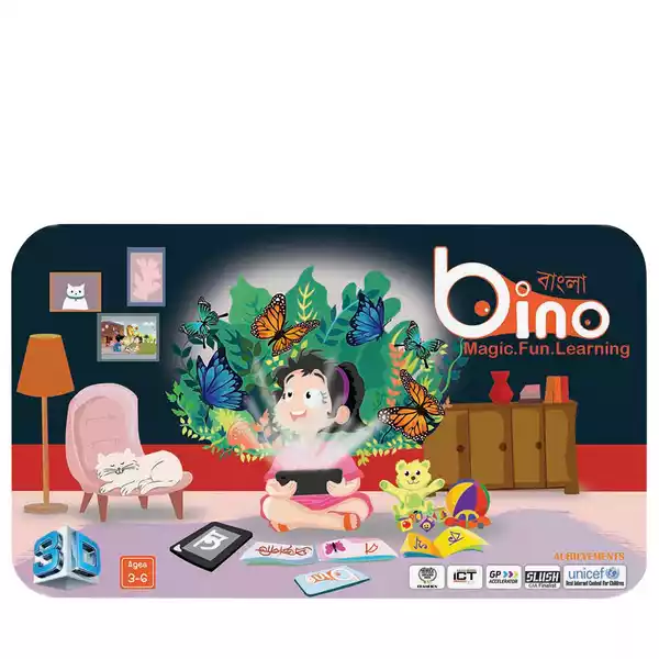 Bino 3D Adventurous Bangla Book (1pcs)