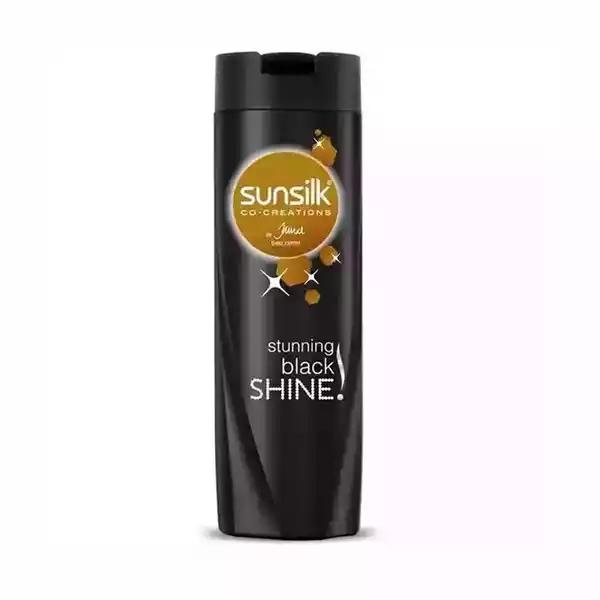 Sunsilk Shampoo Stunning Black Shine  (375 ml)