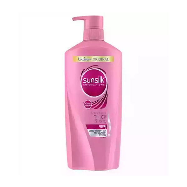 Sunsilk Shampoo Lusciously Thick & Long  (650 ml)