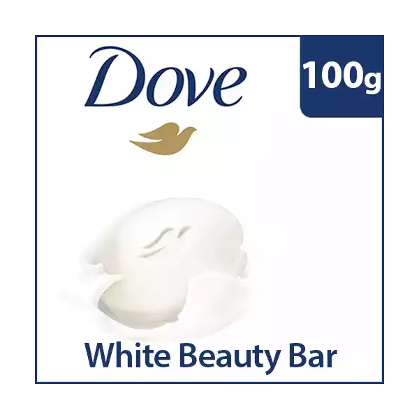 Dove Beauty Bar White (100 gm)