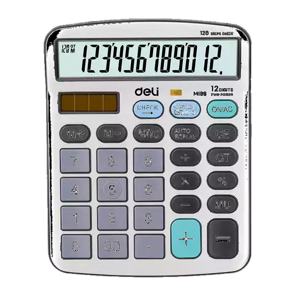 Deli Scientific Calculator 12 Digit (M198) (1pcs)