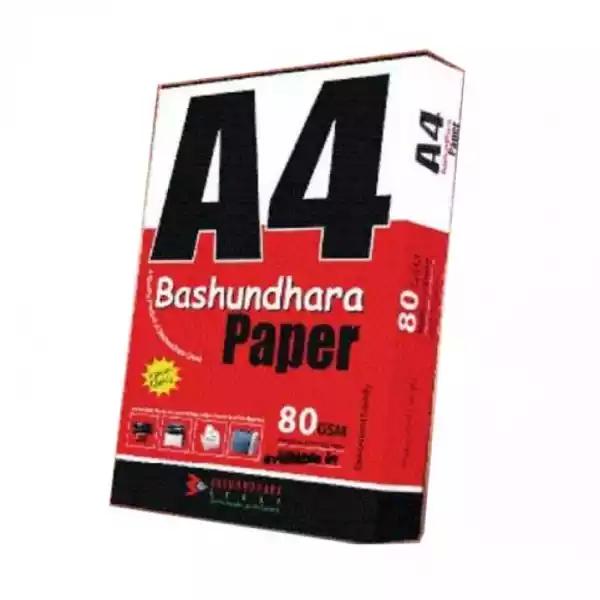 Bashundhara Paper A4 Size (80 GSM) (1rim)