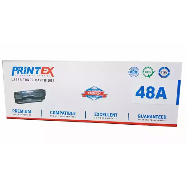 Printex Laser Toner Cartridge (48A) (1pcs)