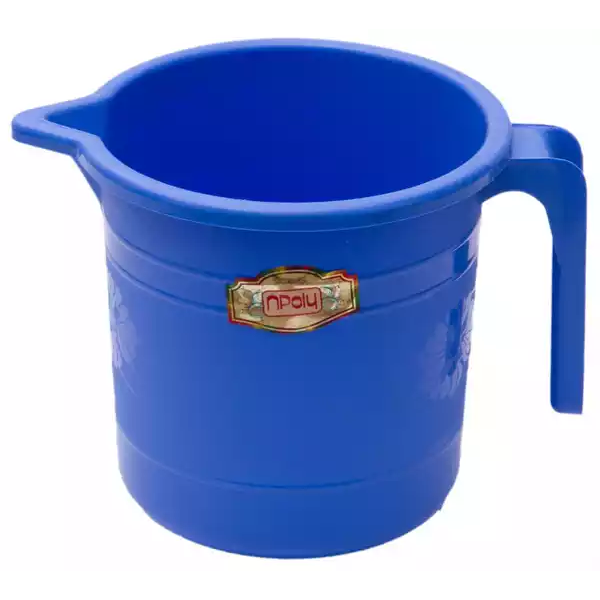 Npoly Design Mug 2 ltr (Blue) (1pcs)
