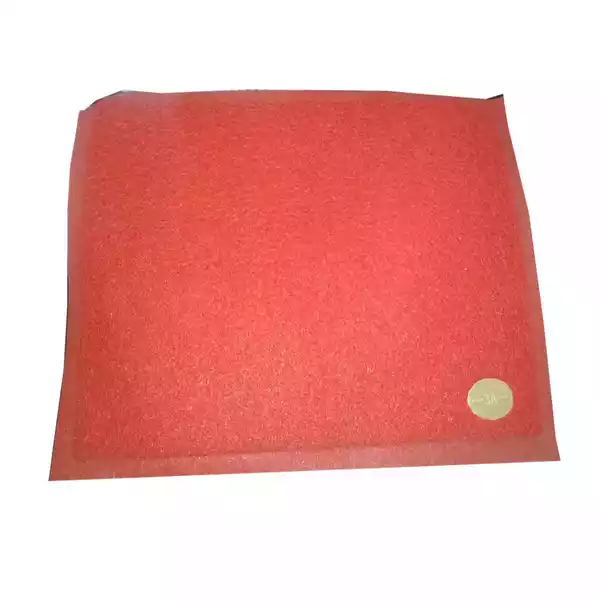 """Plastic Floor Trapper Mat Red 23""""x15"""" (China) (1pcs)"""