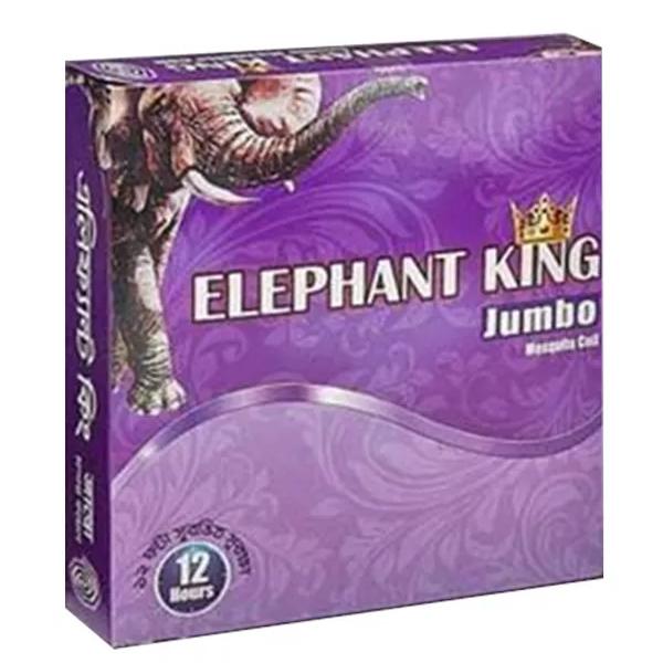 Elephant King Jumbo Violet Mosquito Coil (10pcs)