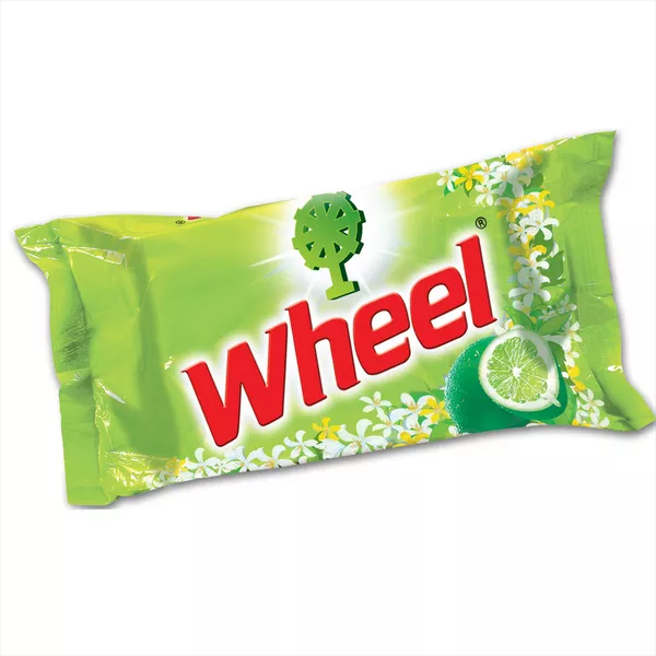 Wheel Washing Powder Laundry Bar (130 gm)