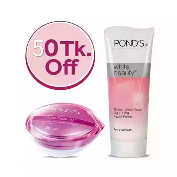 Pond's White Beauty Combo Pack (Day Cream+Face Wash)
