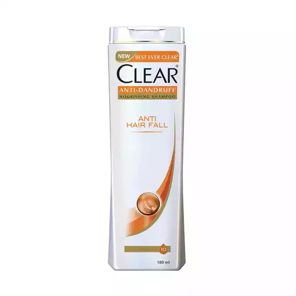 Clear Anti Hairfall Anti Dandruff Shampoo  (180 ml)