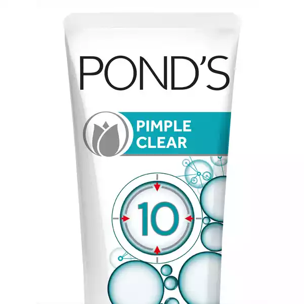 Ponds Face Wash Pimple Clear (50 gm)