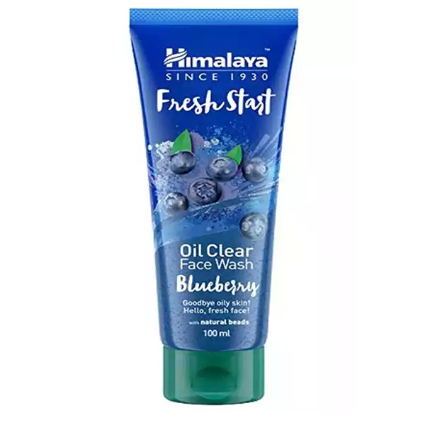 Himalaya Fresh Srart Oil Clear Face Wash Blueberry (100 ml)