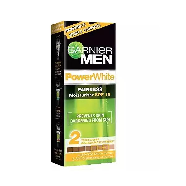 Garnier Men Power White Moisturiser (SPF 15) (45 gm)