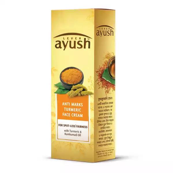 Lever Ayush Face Cream Anti Marks Turmeric (50 gm)