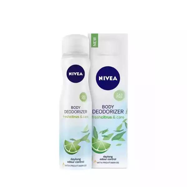 Nivea Freshcitrus & Care Body Deodorizer (120 ml)