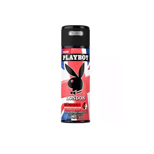 Playboy London 24h Deodorant Body Spray (150 ml)