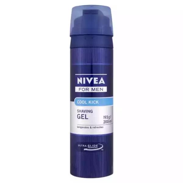 Nivea Men Cool Kick Shaving Gel (200 ml)