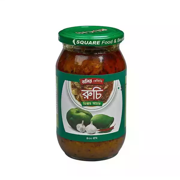 Ruchi Mixed Pickle  (400 gm)