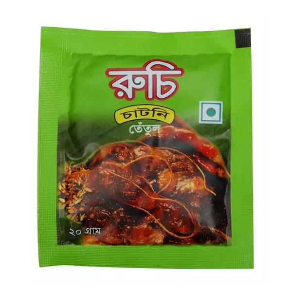 Ruchi Chutney Tetul  (20 gm 12 pcs)