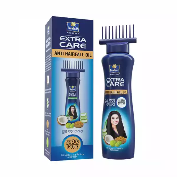 Parachute Hair Oil Anti Hairfall Oil Extra Care with Root Applier (150 ml)