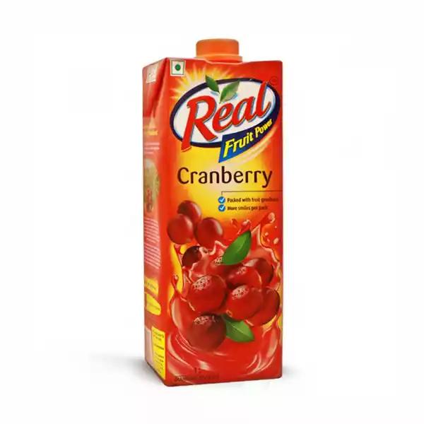 Real Fruit Power Cranberry Juice (1 ltr)
