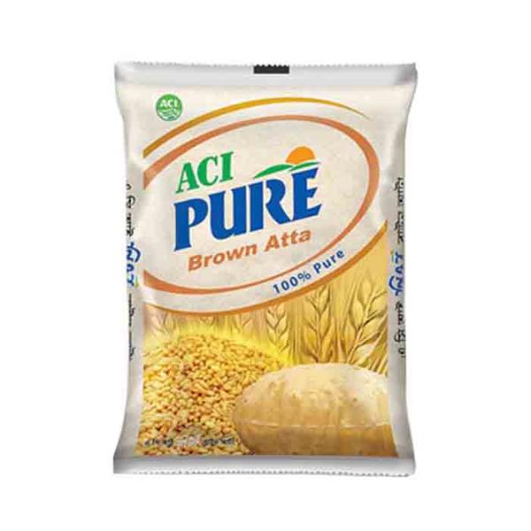 Aci Pure Brown Atta  (2 KG )