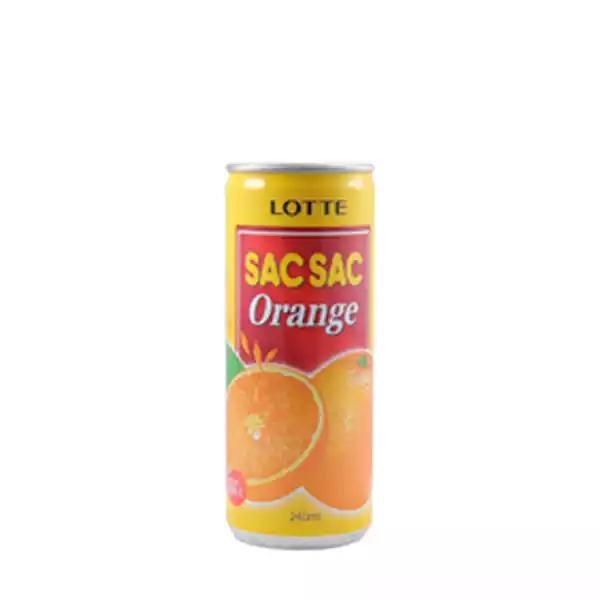 Lotte Sac Sac Orange Drink (240 ml)
