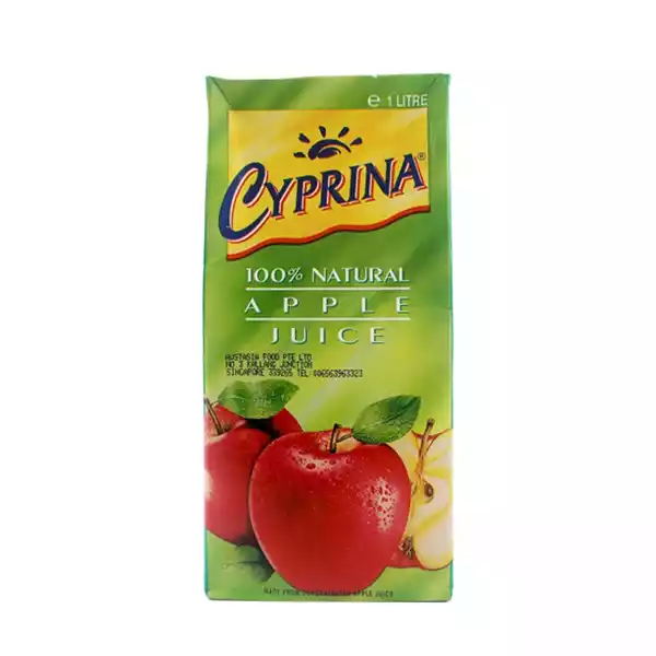 Cyprina Juice Drink Apple (1 ltr)