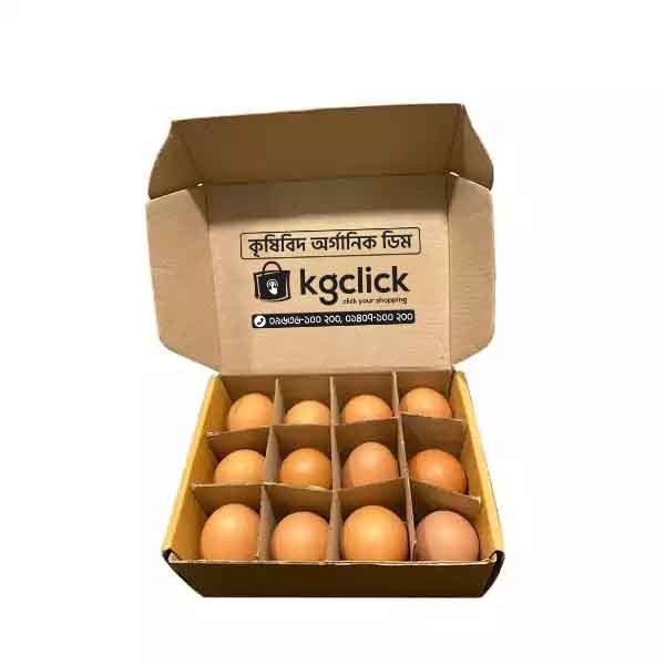 Krishibid Organic Egg (12 PCS)