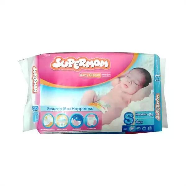 SUPERMOM Baby Diaper Belt S New Born- 8 kg (4pcs)