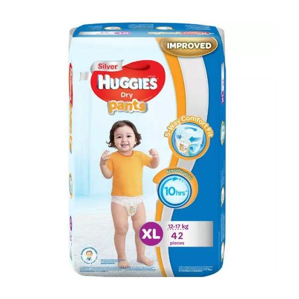 Huggies Dry Pants Baby Diaper Pant XL 12-17 kg (42pcs)