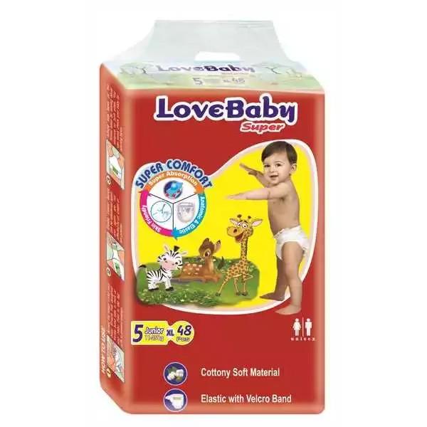 Love Baby Super Diaper 5 Junior Belt XL 11-25 kg (48pcs)
