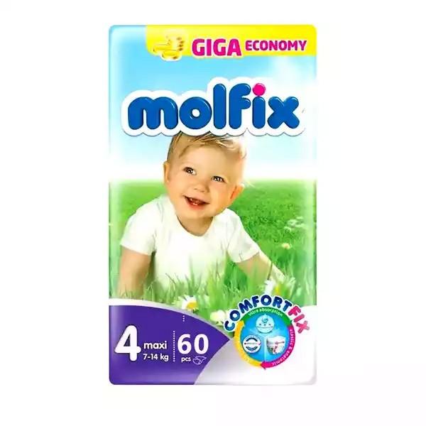 Molfix Baby Diaper Belt 4 Maxi 7-14 kg (60pcs)
