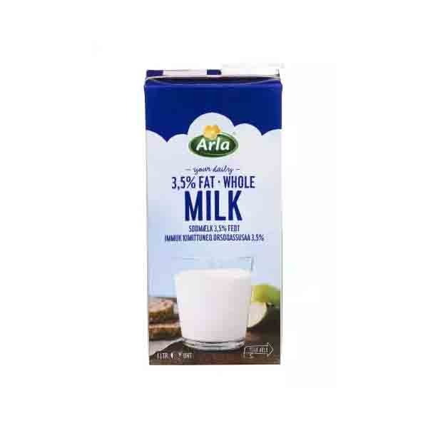 Arla Whole 3.5 % UHT Milk (1 ltr)