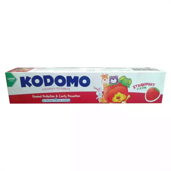 Kodomo Baby Toothpaste Strawberry Flavor (80gm)