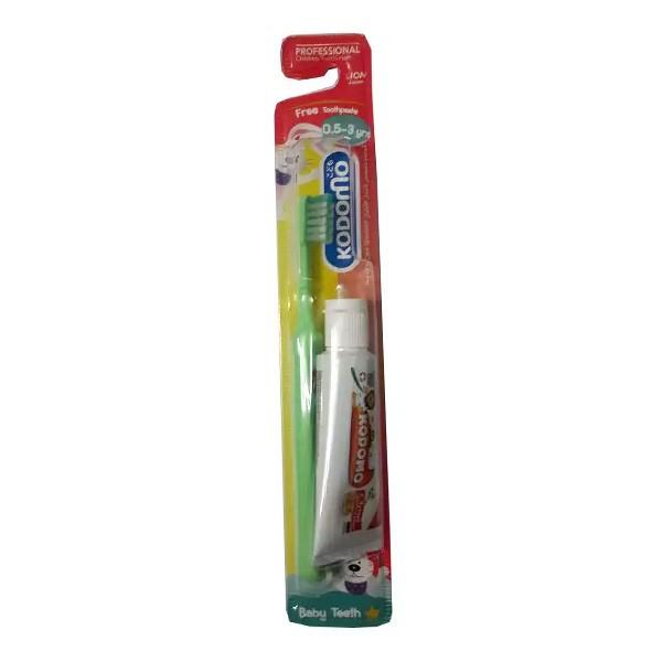 Kodomo Children (0.5 - 3 yrs) Toothbrush & Orange Paste (1pcs)