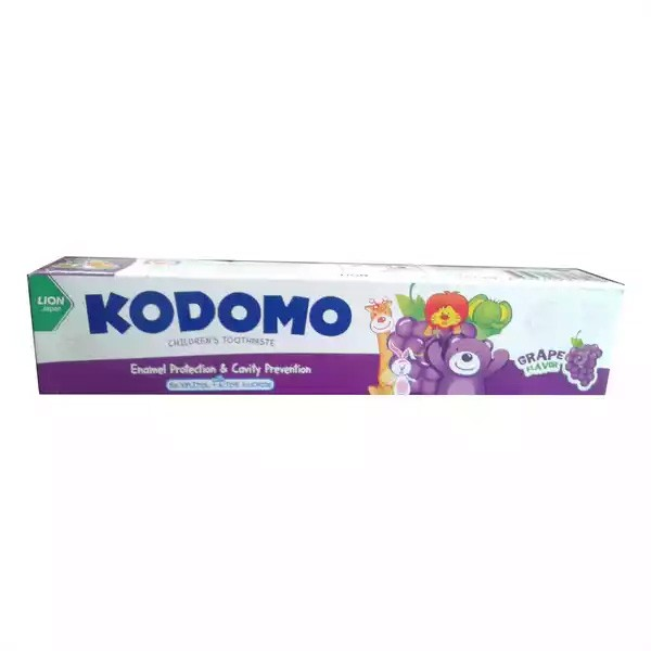 Kodomo Baby Toothpaste Grape Flavor (80gm)