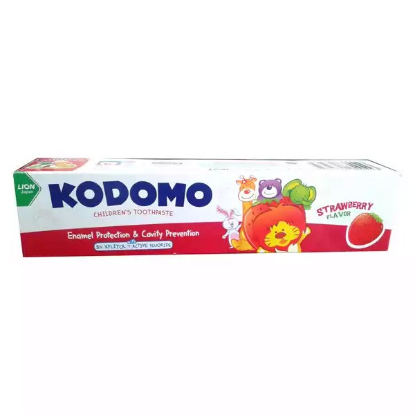 Kodomo Baby Toothpaste Strawberry Flavor (40gm)