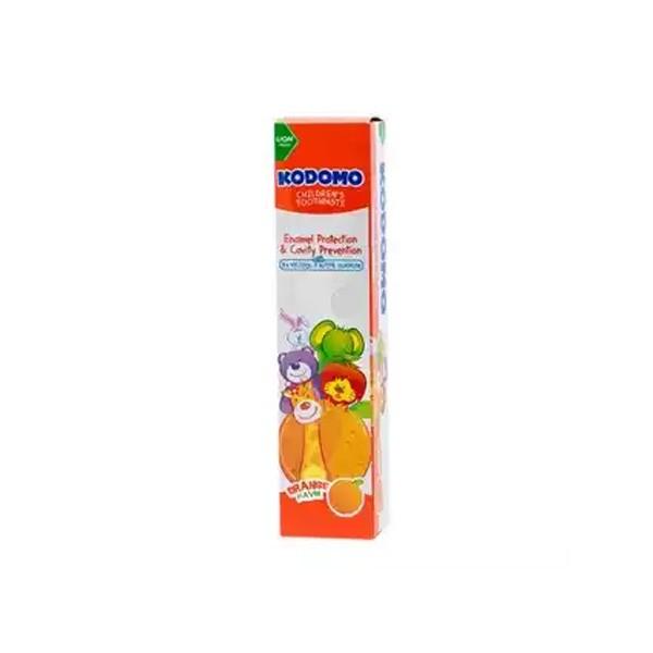 Kodomo Children's Toothpaste Orange Flavor (80gm)
