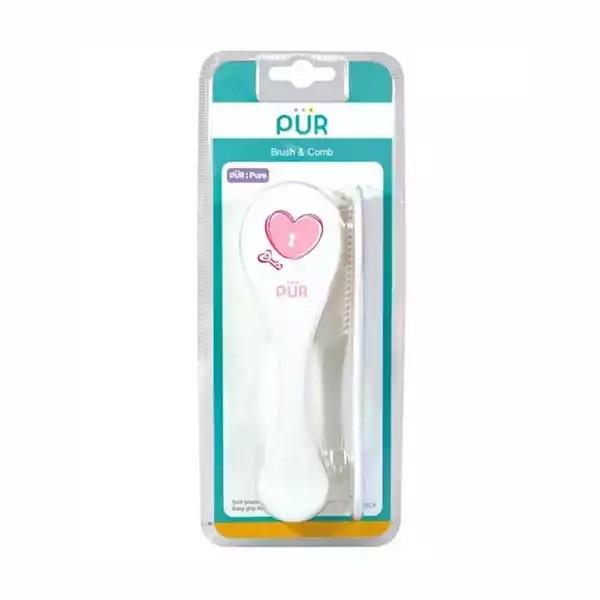 Pur Baby Brush & Comb 1 Set (R.6905) (1set)