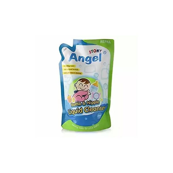 Angel Baby Feeding Bottle & Nipple Cleanser Refill (500ml)