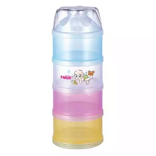 Farlin Baby Milk Powder Container Mixed Colour (BF-183) 4 layer (1pcs)