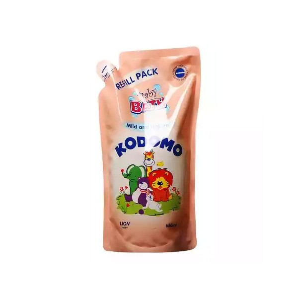 Kodomo Baby Bath Mild & Natural Refill (650ml)