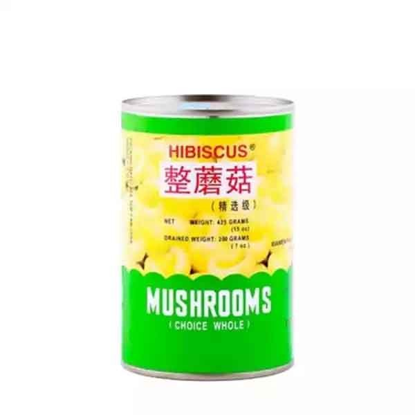 Hibiscus Mushrooms Choice Whole Can (425 gm)