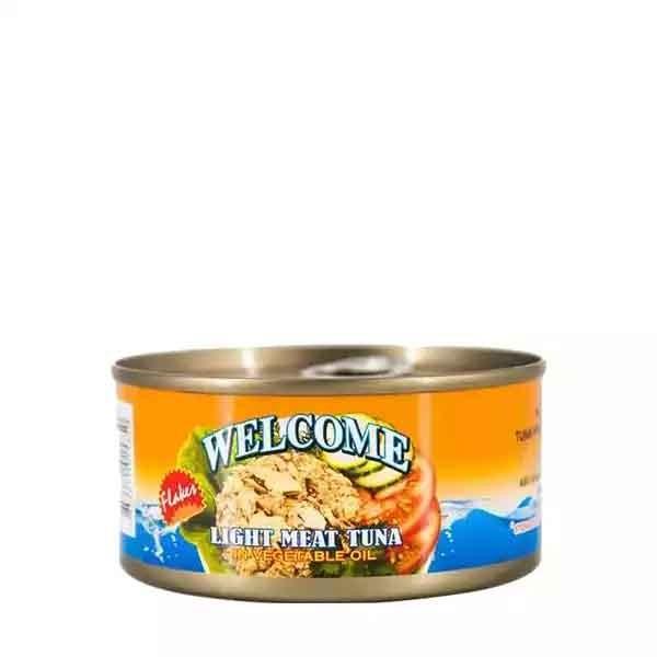 Welcome Light Meat Tuna In Veg Oil (170 gm)