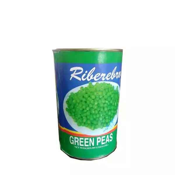 Riberebro Green Peas Can (397 gm)