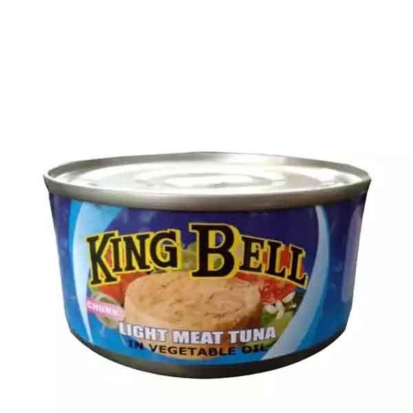 King Bell Light Meat Tuna Veg Oil (185 gm)
