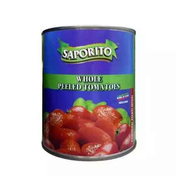 Saporito Whole Peeled Tomato Can (800 gm)