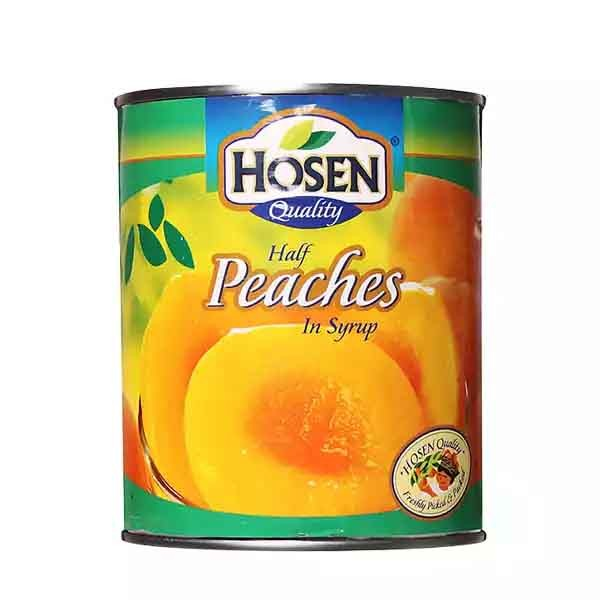 Hosen Quality Half Peaches In Syrup (825 gm)